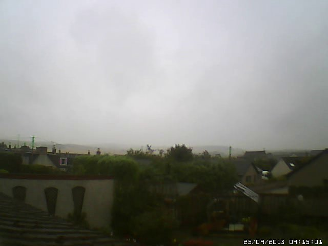 "My ""Bourtie Hill"" webcam."
